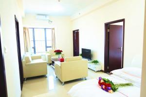 Guangzhou Bin Ke International Apartment Pazhou Branch, Apartmány  Kanton - big - 15