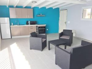 Le Domaine Turquoise, Апартаменты  Le Moule - big - 28