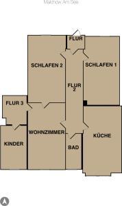 Wohnung Malchow - [#65845], Apartmány  Borkow - big - 39
