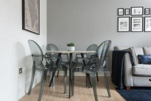 Stunning 2 bed Sleeps 6, 1 min to Bond St, Apartmanok  London - big - 12