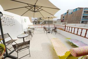 Punta Huanchaco Hostel, Hostely  Huanchaco - big - 9