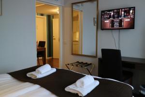 Hotell Marieberg, Hotel  Kristinehamn - big - 33