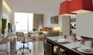 Two-Bedroom Suite with Living Room and Private Balcony