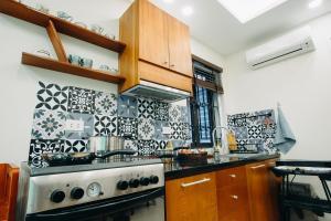 Indochine Flat 101- BBQ Garden (Hanoi Old Quarter), Apartmány  Hanoj - big - 5