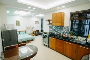 Indochine Flat 101- BBQ Garden (Hanoi Old Quarter), Apartmány  Hanoj - big - 9