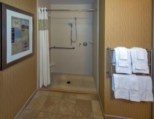 King Room with Roll In Shower - Disability/Hearing Accessible