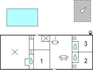 Three-Bedroom Holiday Home in Gournay-en-Bray, Case vacanze  Gournay-en-Bray - big - 16