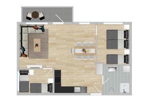 Apartment - Mandalls gate 10-12, Appartamenti  Oslo - big - 25