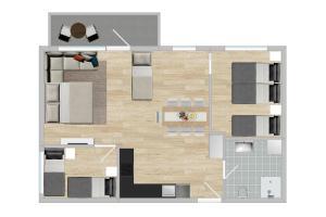 Apartment - Mandalls gate 10-12, Appartamenti  Oslo - big - 24