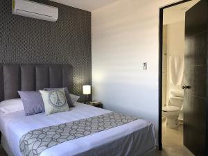 Luxury Apartments Donwtown, Appartamenti  Cancún - big - 23