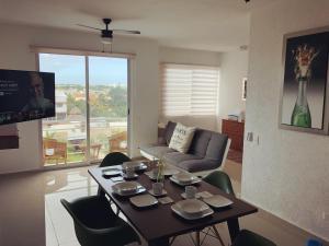 Luxury Apartments Donwtown, Appartamenti  Cancún - big - 1