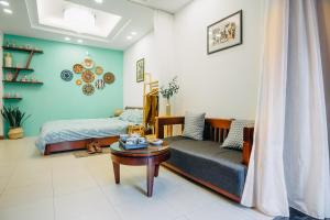 Indochine Flat 101- BBQ Garden (Hanoi Old Quarter), Apartmány  Hanoj - big - 27