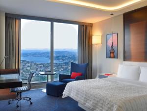 Double or Twin Room with Bosphorus View