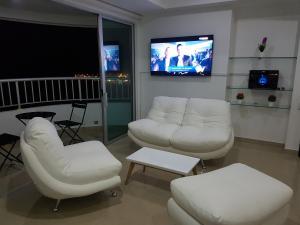 Apartamento en cartagena con vista al Mar /MakroTours, Apartments  Cartagena de Indias - big - 3