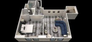 One-Bedroom Family Suite