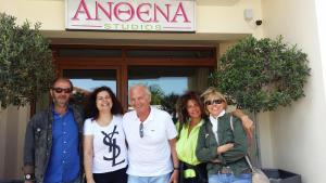 Anthena Studios, Aparthotely  Skiathos Town - big - 44
