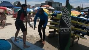 Waterman Brasil Surf Camp, Отели типа «постель и завтрак»  Флорианополис - big - 7