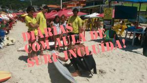 Waterman Brasil Surf Camp, Отели типа «постель и завтрак»  Флорианополис - big - 4