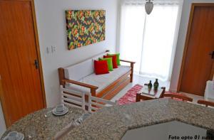 Ap (Flat) Taperapuã Porto Seguro, Apartmanok  Porto Seguro - big - 8