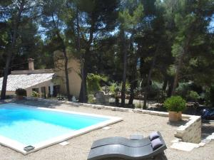 Lou Ventoulet, Bed & Breakfasts  Mouriès - big - 7