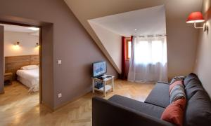 appartement des Alpes, Apartmanok  Le Bourg-d'Oisans - big - 5