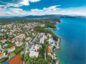 Apartment Malinska with Sea View I, Appartamenti  Malinska - big - 19