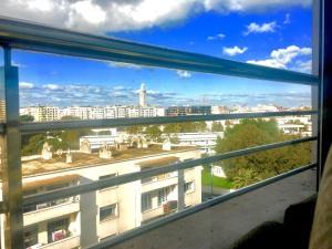 Central, Grand, Confortable, Lumineux, Belle vue, Ferienwohnungen  Casablanca - big - 18