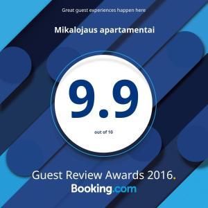 Mikalojaus apartamentai, Apartments  Vilnius - big - 60