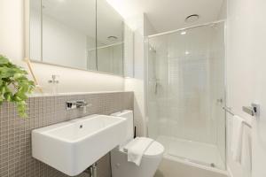 SSP Upper West Side - Melbourne CBD, Apartmány  Melbourne - big - 85
