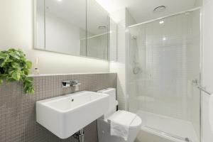 SSP Upper West Side - Melbourne CBD, Apartmány  Melbourne - big - 99