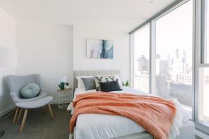 SSP Upper West Side - Melbourne CBD, Apartmány  Melbourne - big - 104