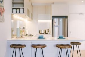 SSP Upper West Side - Melbourne CBD, Apartmány  Melbourne - big - 114