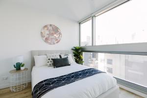 SSP Upper West Side - Melbourne CBD, Apartmány  Melbourne - big - 116