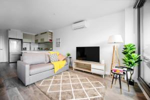 SSP Upper West Side - Melbourne CBD, Apartmány  Melbourne - big - 121