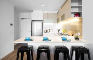 SSP Upper West Side - Melbourne CBD, Apartmány  Melbourne - big - 126