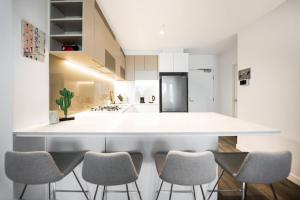 SSP Upper West Side - Melbourne CBD, Apartmány  Melbourne - big - 127