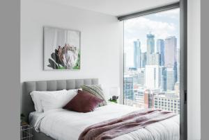 SSP Upper West Side - Melbourne CBD, Apartmány  Melbourne - big - 129
