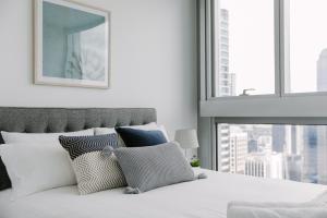 SSP Upper West Side - Melbourne CBD, Apartmány  Melbourne - big - 144