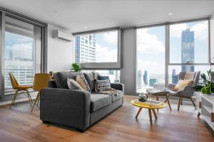 SSP Upper West Side - Melbourne CBD, Apartmány  Melbourne - big - 148