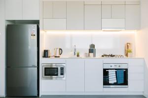 SSP Upper West Side - Melbourne CBD, Apartmány  Melbourne - big - 158