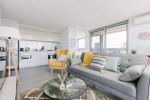 SSP Upper West Side - Melbourne CBD, Apartmány  Melbourne - big - 162