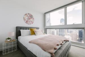 SSP Upper West Side - Melbourne CBD, Apartmány  Melbourne - big - 163