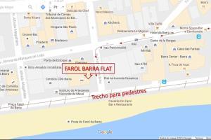 Farol Barra Flat, Apartmány  Salvador - big - 15