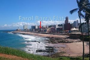 Farol Barra Flat, Apartmány  Salvador - big - 17