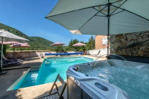 Le Jardin de la Sals (Ecluse au Soleil), Bed & Breakfasts  Sougraigne - big - 29