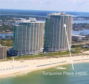 Turquoise Place 2405C, Apartmány  Orange Beach - big - 25