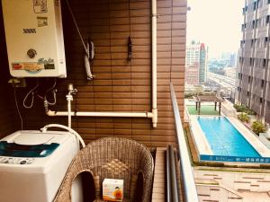 Q Square Garden Apartment, Appartamenti  Taipei - big - 8