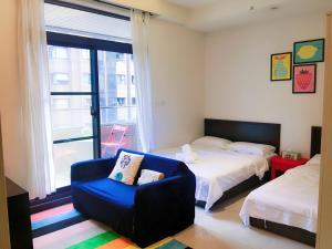 Q Square Garden Apartment, Appartamenti  Taipei - big - 27