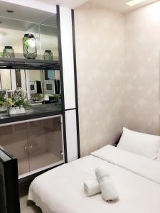 Q Square Garden Apartment, Appartamenti  Taipei - big - 38
