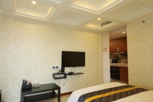 iHotel Apartment Guangzhou Folk Financial Mansion Branch, Apartmány  Kanton - big - 17